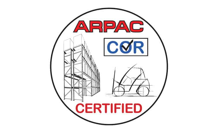 ARPAC COR Certification logo